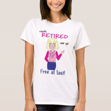 Retirement T-Shirt - tap, personalize, buy right now!