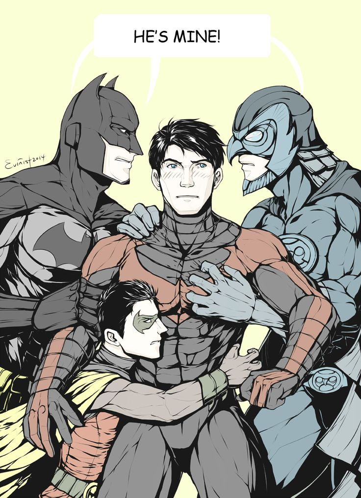 evinist:  The original Dick Grayson fandom: The Waynes The Wayne blood might be cursed.