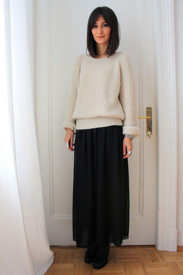 Best 25+ Long chiffon skirt ideas only on Pinterest | Long skirts ...