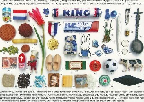 Souvenirs Nederland ansichtkaart