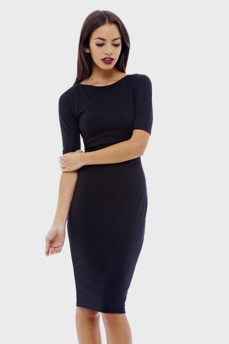 17 Best ideas about Black Bodycon Dress on Pinterest   Party