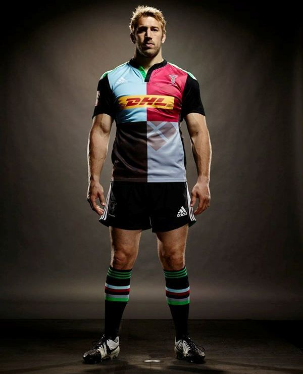 Chris Robshaw - Adidas Harlequins Jersey available at Fenton Rugby Online