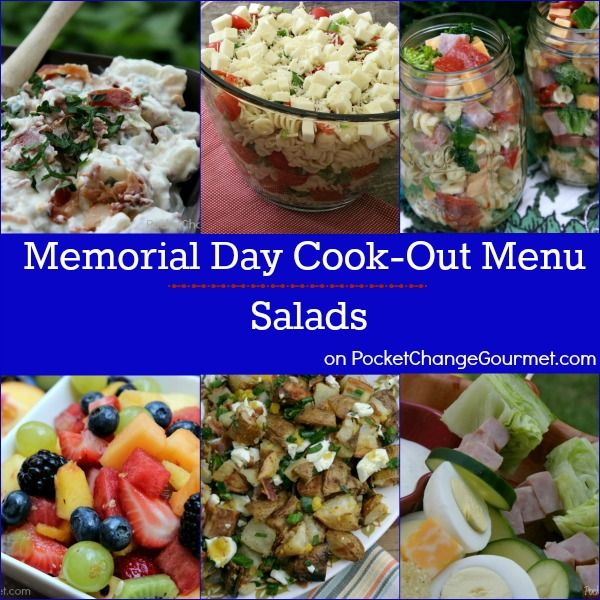 menu for memorial day barbecue