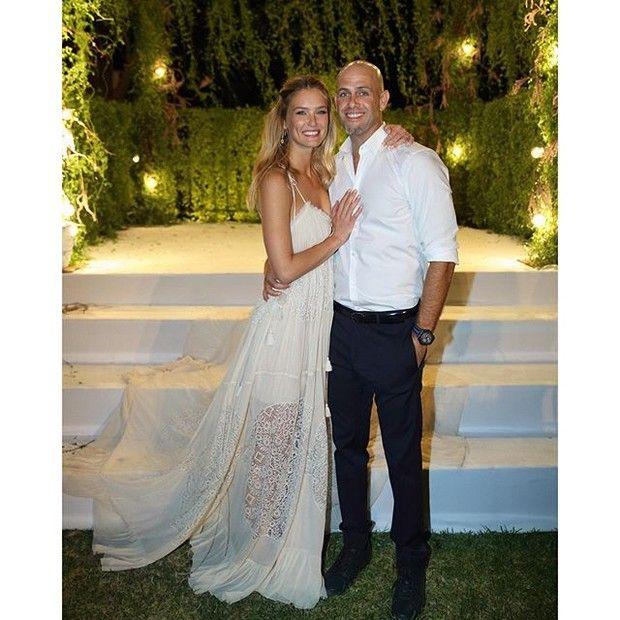 Bar Refaeli mostra foto do casamento (Foto: Reprodução/ Instagram)