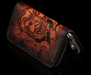 Japanese Style Fashion Design Quality Cowskin Wallet
