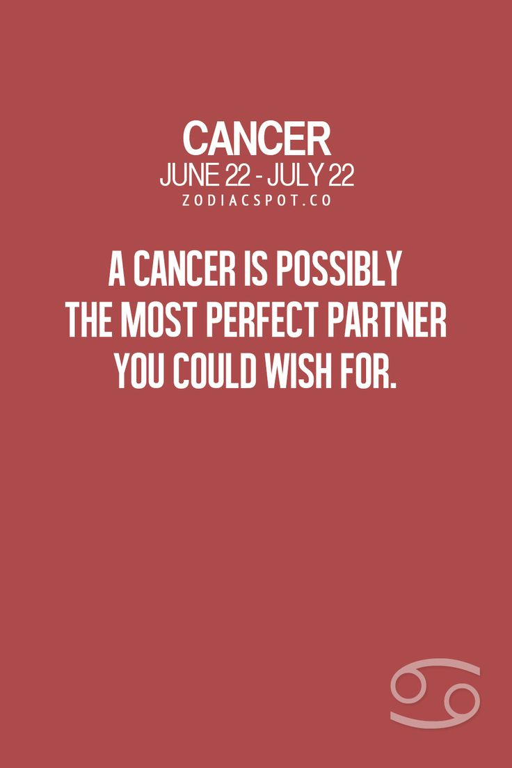 Cancer Zodiac Sign perfect partner
