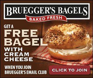 Bruegger bagel coupon