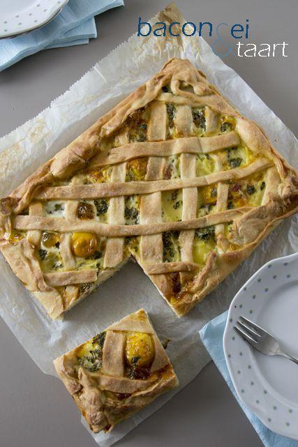 Bacon & Egg pie - BrendaKookt.nl