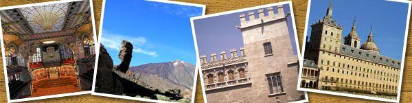 Lugares Patrimonio de la Humanidad en España por UNESCO, como la Alhambra, la Lonja de la Seda, la Catedral de Sevilla y la ciudad de Salamanca entre otras. - www.donquijote.org/cultura/spain/places/cities/world-heritage-sites-in-spain.asp