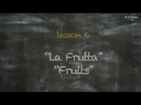 Giochiamo in inglese insieme a Miss Charles. Nell'episodio 6 iniziamo ad imparare i nomi di alcuni frutti. http://www.bjcharles.it/
