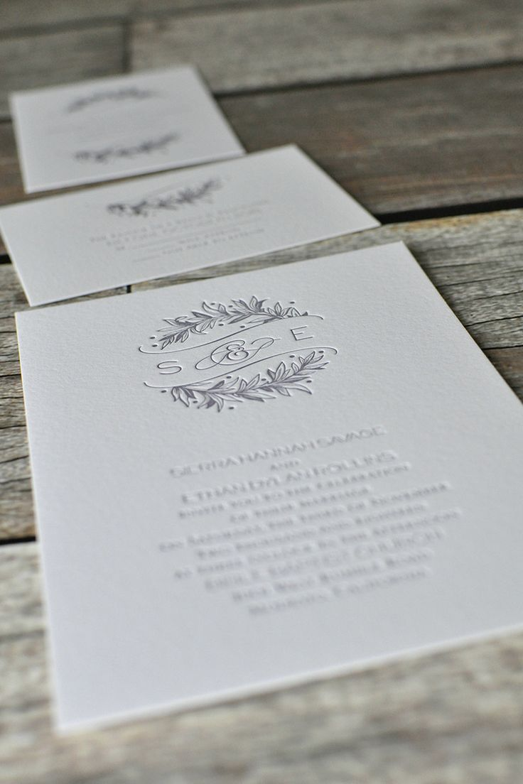 paper style wedding invitations%0A Don u    t think a simple country wedding means a plain jane invitation  Go  natural with a letterpress wedding invitation printed on cotton paper