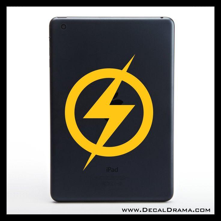 Original Flash, Flash Gordon emblem, DC Comics-inspired Justice League Fan Art Vinyl Car/Laptop Decal