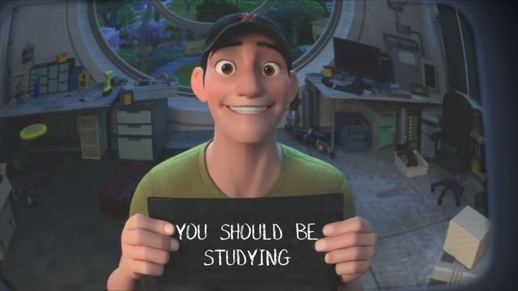 LOL I was literally on the computer to avoid studying and this is what I get. Well played Tadashi, well played.