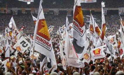 Kader Gerindra Riau Geruduk MK Hari Ini