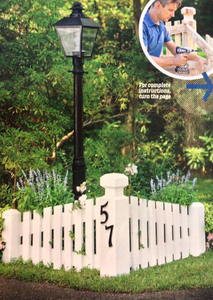 Best 20 Front Yard Landscaping Ideas On Pinterest: Best 20+ Front Yard Fence Ideas Curb Appeal Ideas On Pinterest