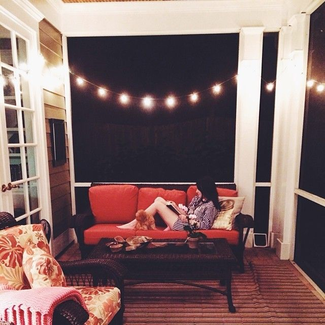 I'll be needing a porch and lights on my front porch.