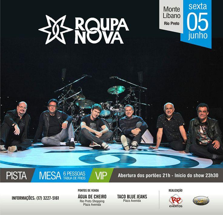 Antecipe o Dia dos Namorados Assista ao Show de uma das Bandas mais Românticas do Brasil! http://bit.ly/1QuZz8e Ingressos:  Taco Blue – Plaza Avenida Shopping – 17- 3355 0600 /  3355 0608 Água de Cheiro- Plaza Avenida Shopping – 17- 3355-0556 Água de Cheiro- Rio Prero Shopping -17- 3227-5161