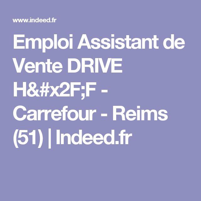 Emploi Assistant de Vente DRIVE H/F - Carrefour - Reims (51) | Indeed.fr