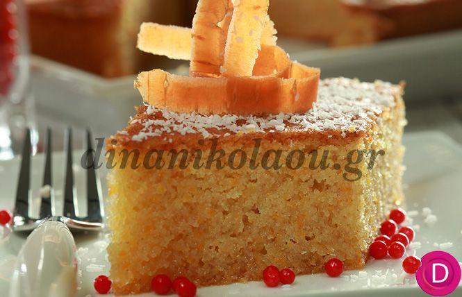 Ραβανί καρότο | Dina Nikolaou