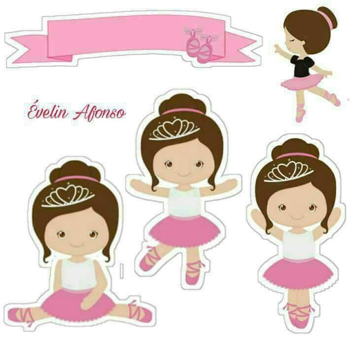 2a1ae616dc Bailarina Alice Decoração Festa Bailarina