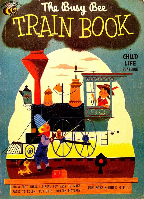 The Busy Bee Train Book