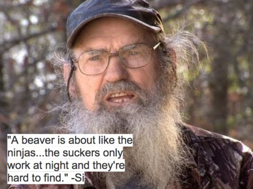 Uncle Si, Duck Dynasty. I love him ♥