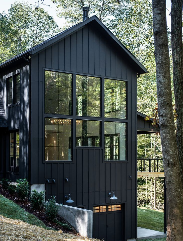 Black Beauty — A Modern Tennessee Farmhouse — Leslie Brown Photography