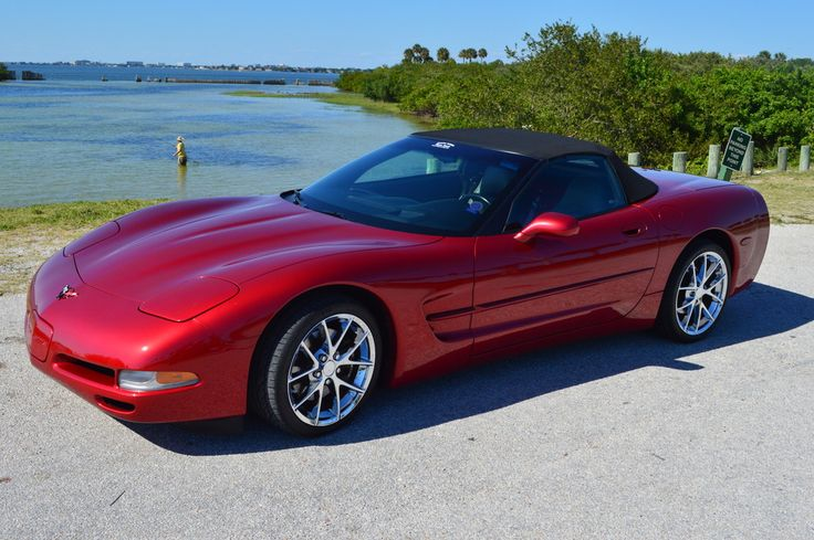 F/S: 2000 C5, Mag Red, Convertible - Corvette Forum. Love the setting for this picture. One of my retirement dreams is to store a Corvette in Florida for cruising around in the winter.