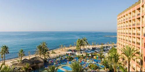 Hoteles para niños de la Costa del Sol:  Complejo Sunset Beach Club, Benalmádena. Viajacontuhijo, especialistas en viajes monoparentales