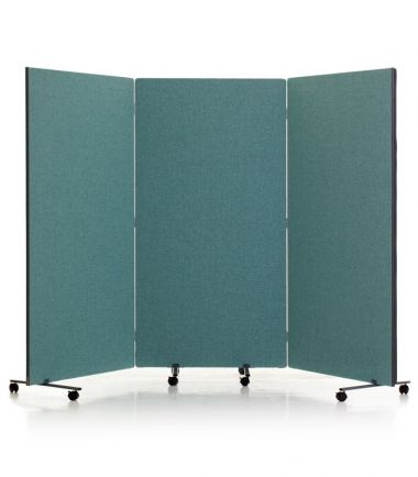 Flexi-Screen Portable partition system - 3 Panel system #concertina #portable #partition