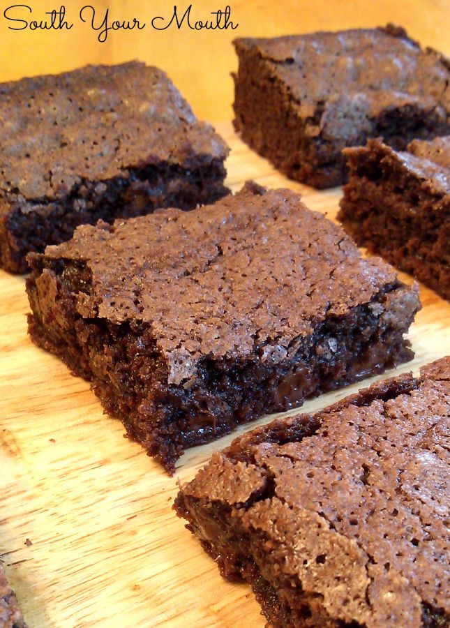 South Your Mouth: Fudgy Cocoa Brownies