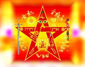 Tetragramaton  es un símbolo que podemos considerar como un tipo específico del pentagrama , el pentagrama cabalístico por excelencia , po...