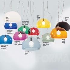 Kartell FLY pendant lamp. Har lyst på to av disse i lilla
