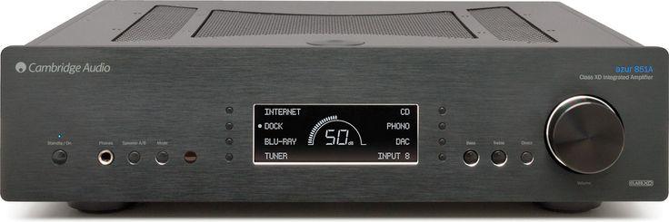 Best Cambridge Audio Azur 851A Black Stereo Integrated 400 x 300