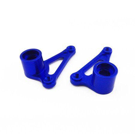 Alloy Front Rocker Arm Set for Traxxas Grave Digger, 1:16, Blue