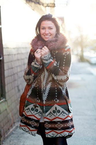 Very cute Pendleton winter coat...bit too hipster for me though.
