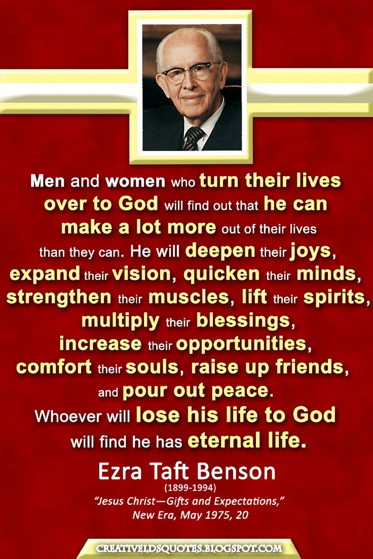 68 best President Ezra Taft Benson- quotes images on Pinterest ...