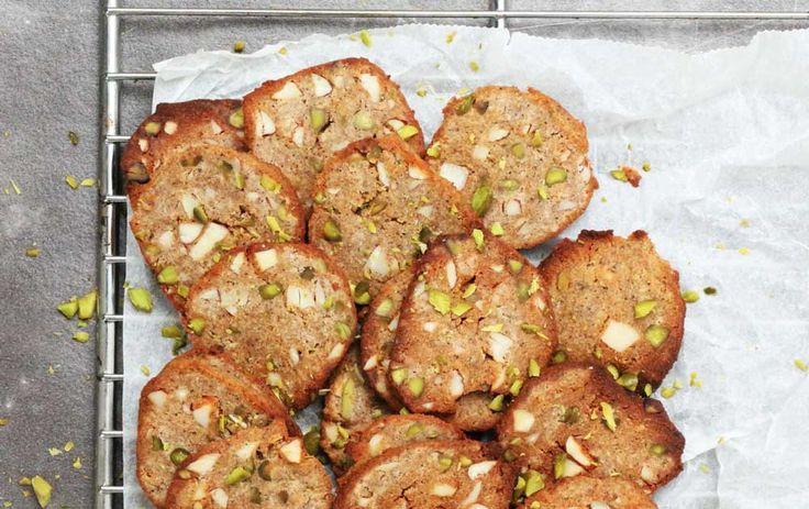 Få opskriften på lækre brunkager helt uden sukker - Michelle Kristensen giver dig her sin opskrift på brunkager uden sukker.