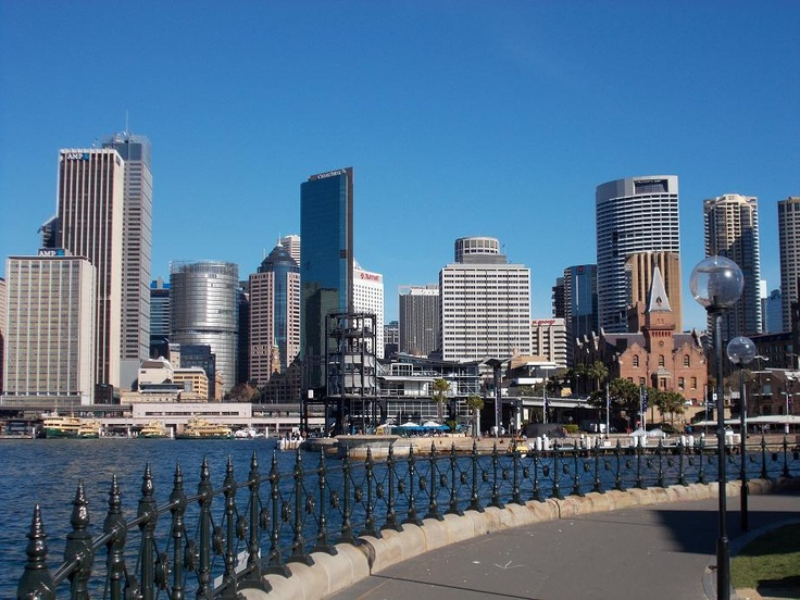 Sydney, what a beautiful city.