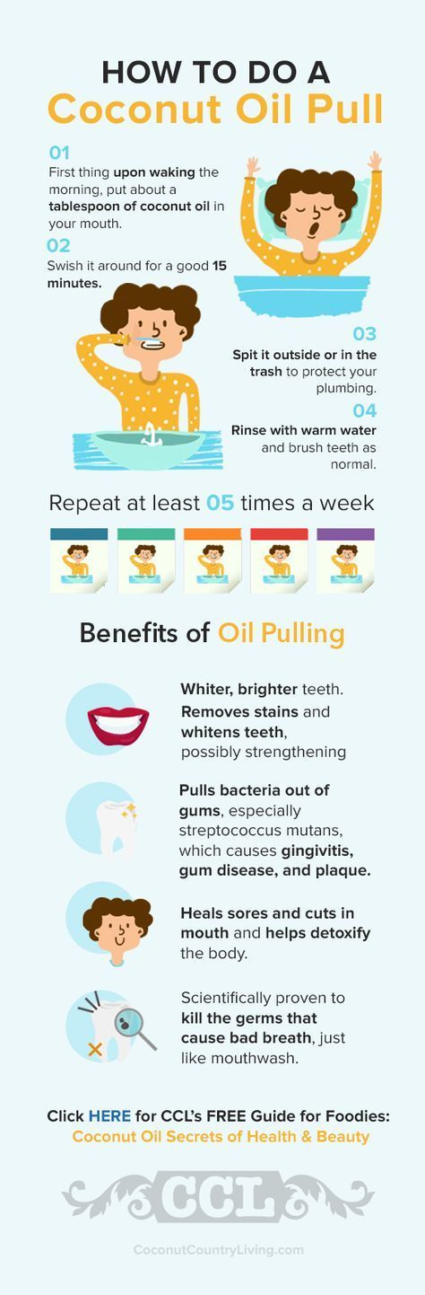 how to know if oil pulling is working