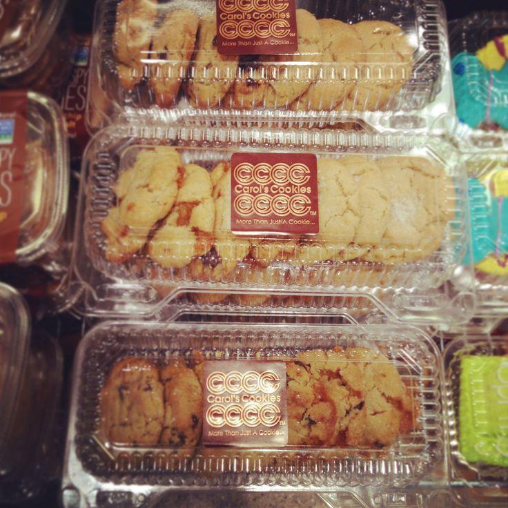 So many choices! #carolscookies