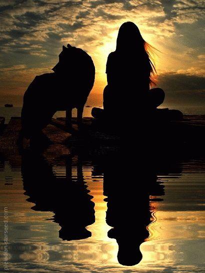 Original By: JulianaWolfe [sunset, water ~gif]