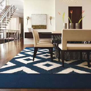 picket fence design flor carpet tiles