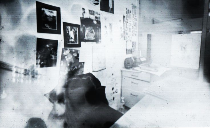 my first attempt at pinhole photography,it is my college space.