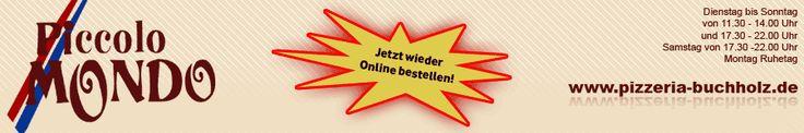 Piccolo Mondo - Pizza Taxi, Lieferservice für Boppard-Buchholz und Umkreis