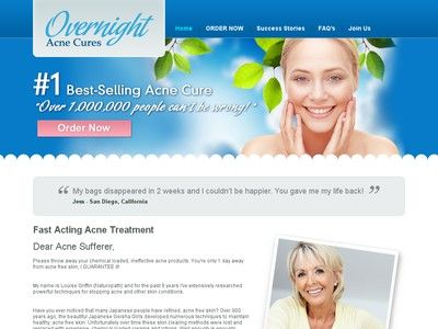 Fast Acne Cure & Treatments, Best Acne Treatment Products - Overnight Acne Cures