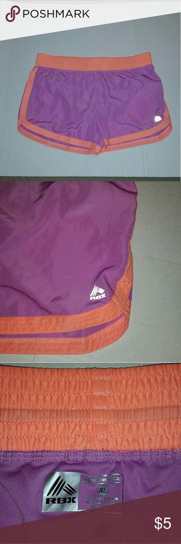 "RBX Dri Fit Shorts Good condition womens Dri Fit performance shorts. Running, workout, training shorts.36"" waist. RBX Shorts Bermudas"