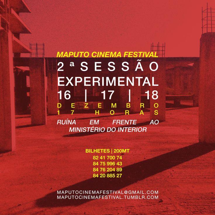Maputo Cinema Festival - 2ª sessão experimental