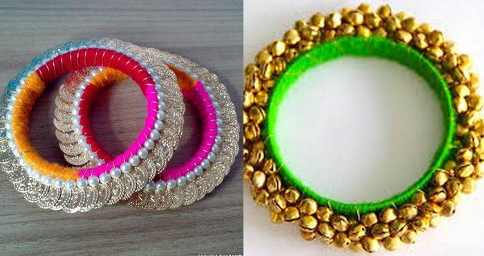 ghungroos, dupattas, payals and fake jewellery is such a fun idea as a sangeet favour