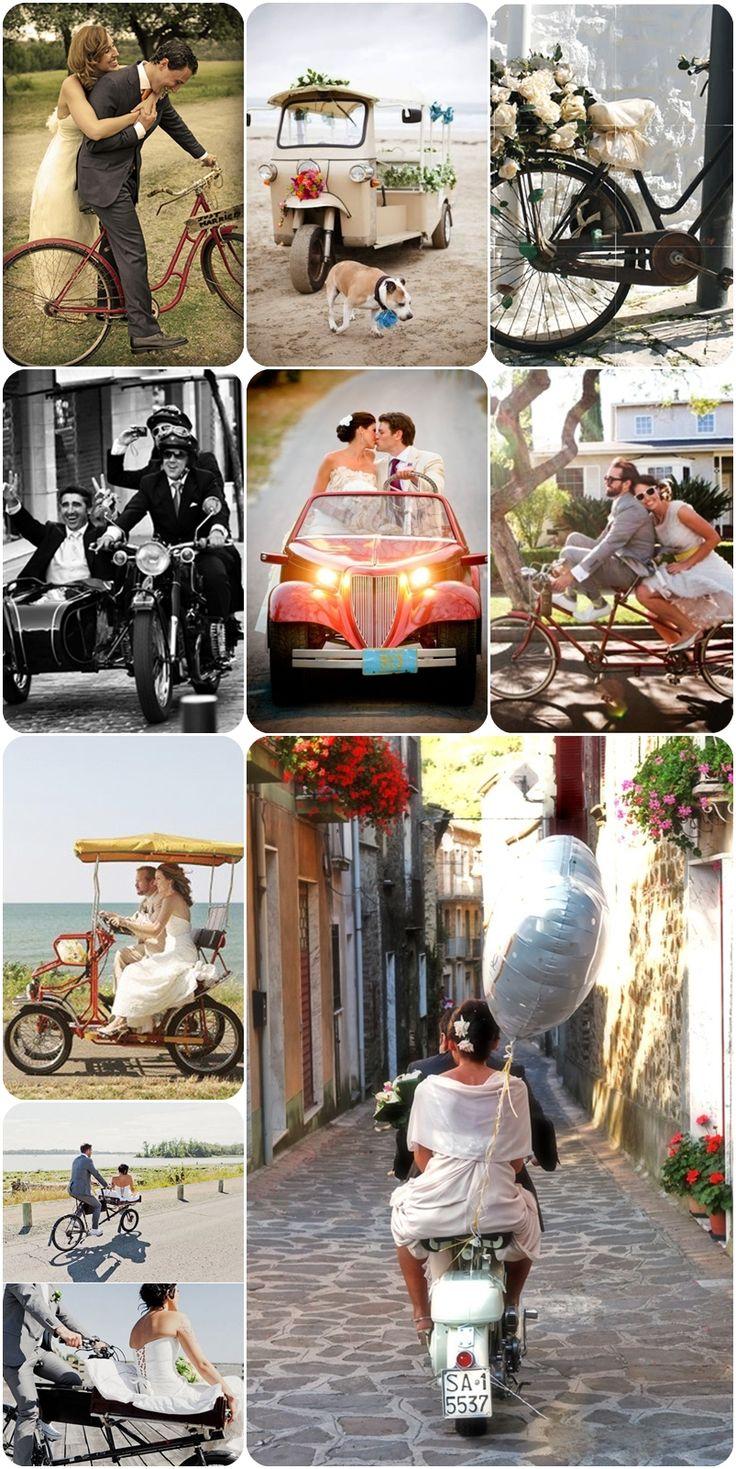 El coche de la boda #bodas #transporte